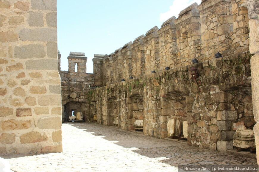 Стены в замке Мансанарес
