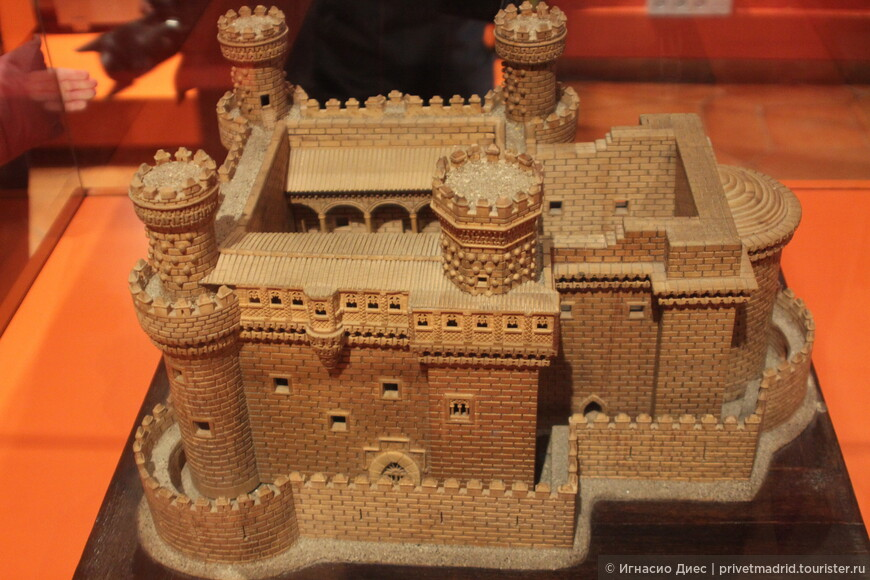Макет замка Мансанарес