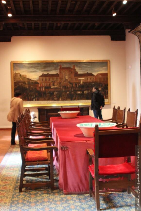 Столовая замка Мансанарес