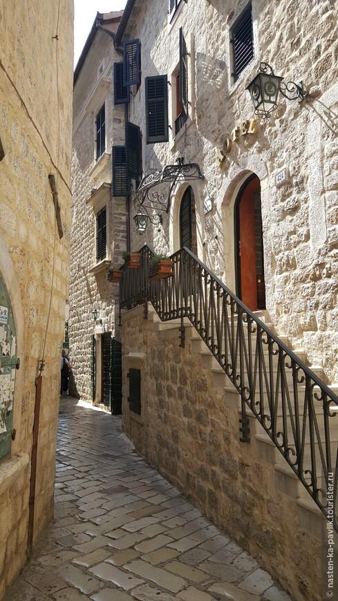 Старый город Котора очень понравился