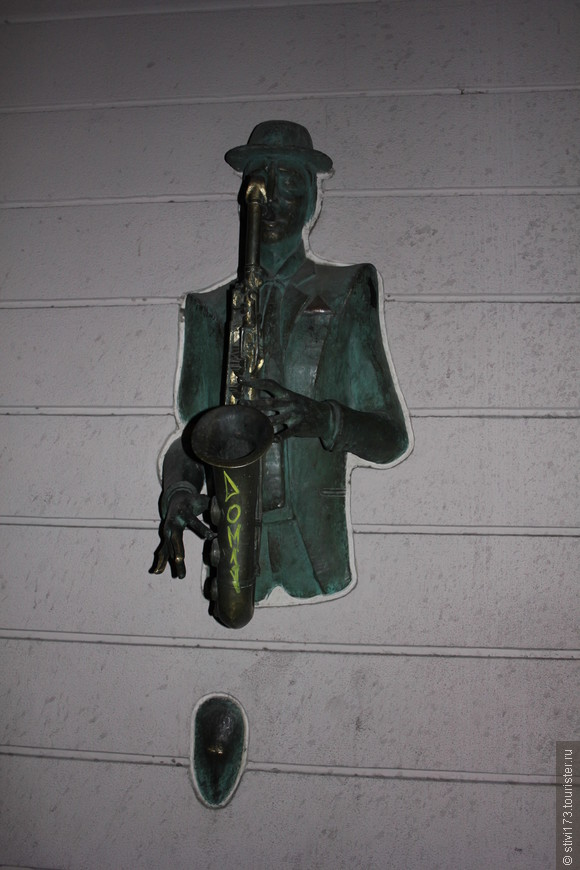 Саксофонист на проспекте Руставели