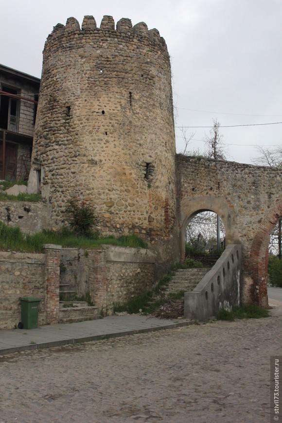Башня Сигнахской крепости
