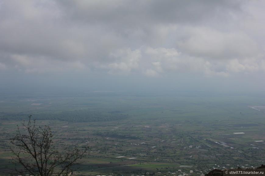 Алазанская долина. Вид из Сигнахи.
