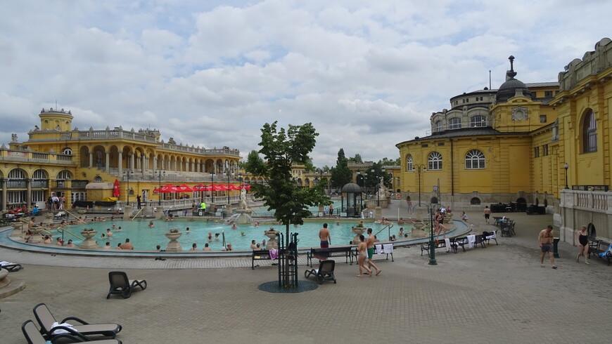 Купальня Сеченьи ,термальные ванн Будапешта