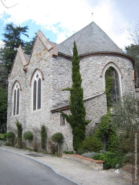 Церквушка в Пиренеях.