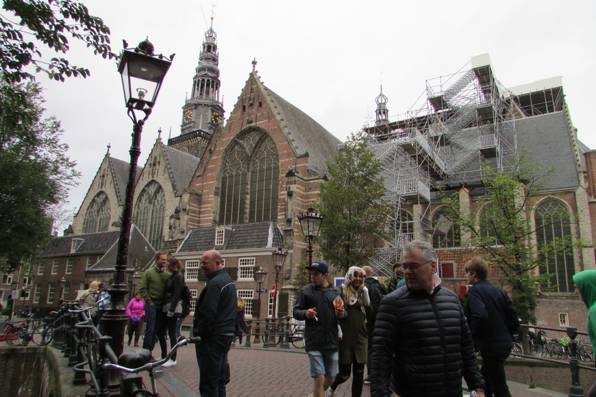 Старая церковь - Ауде Керк.