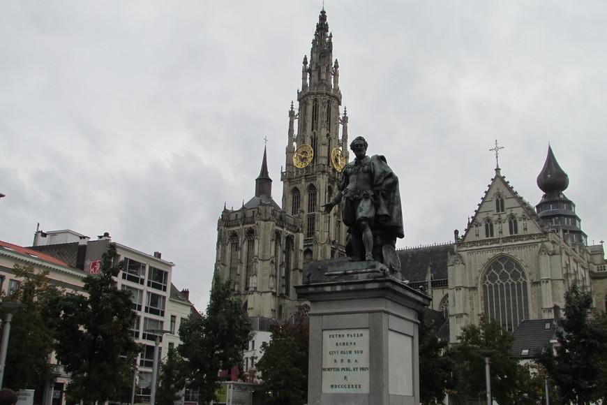 Памятник Рубенсу.