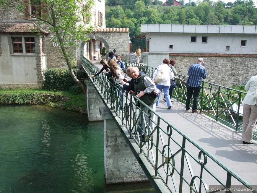 В здании водяной мельницы сейчас находится отель и имеется экспозиция по Рейнскому водопаду