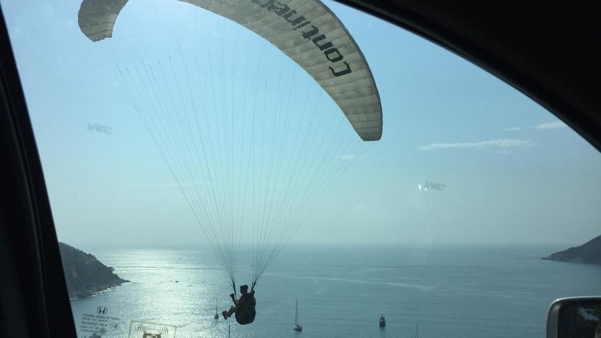 Смотровая площадка Ветряная Мельница на Найхарне – вид на два пляжа