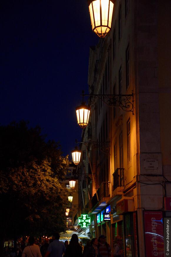 Уличные фонари Лиссабона.