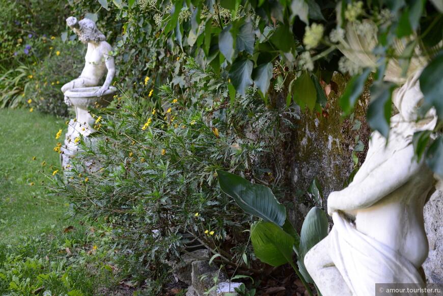В саду Quinta Das Murtas