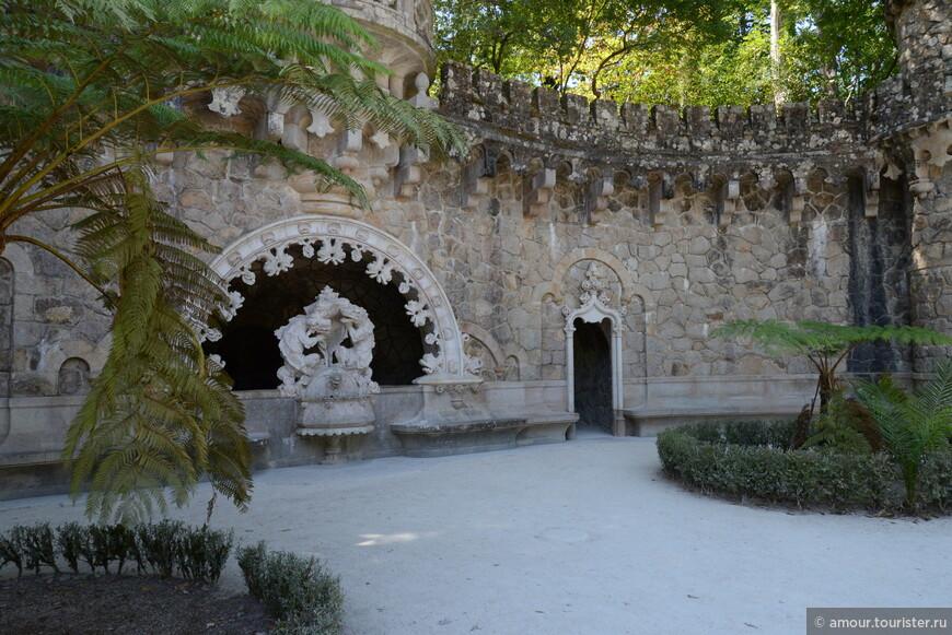 В парке Кинта да Регалейра.