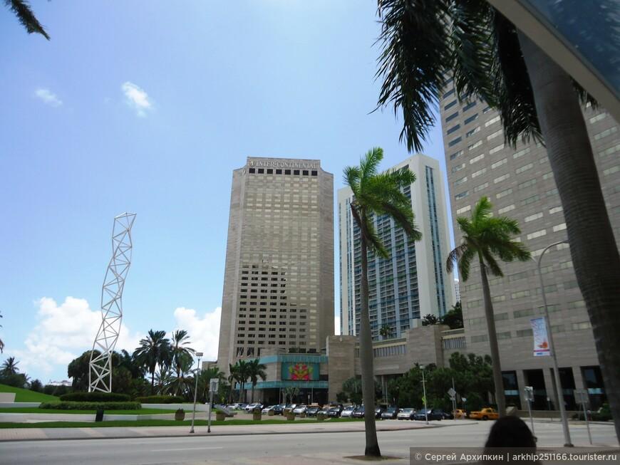 В один из дней я приехал от своего отеля на Майами-бич на общественном автобусе в самый центр Майами
