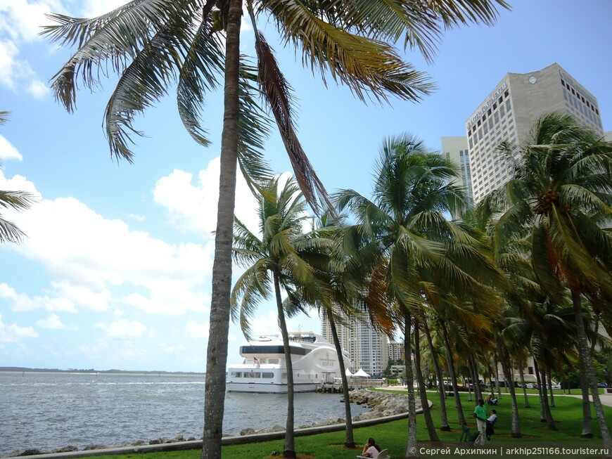 Набережная в центре Майами