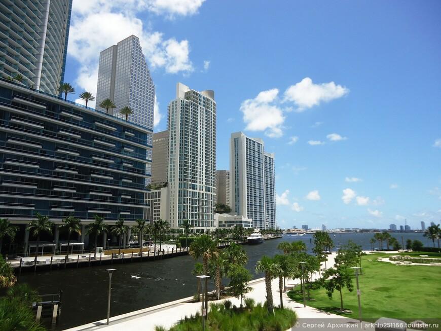 В центре Майами