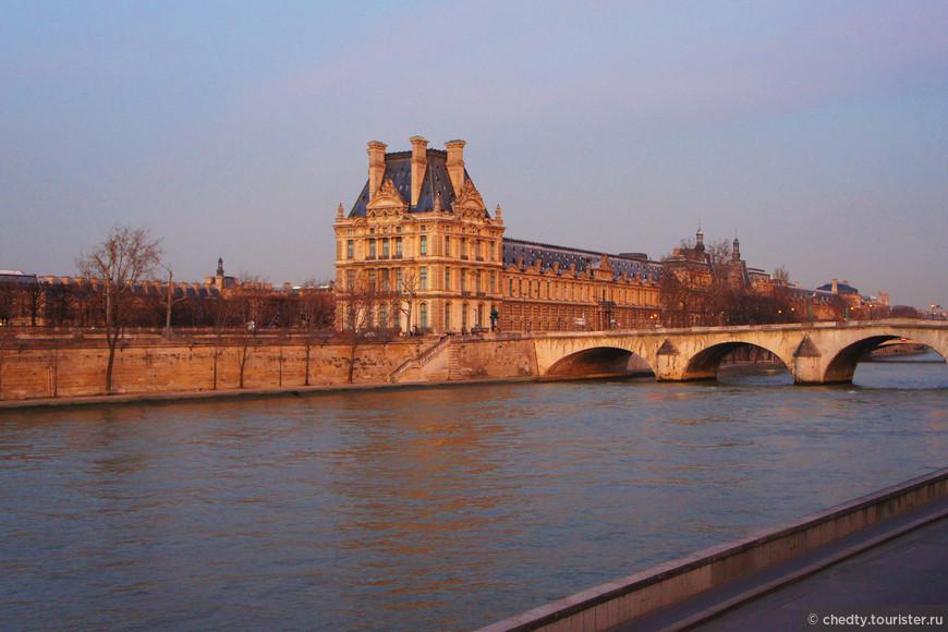 Сколько нужно времени, чтобы посмотреть Лувр? Вот и еще один день закончился.