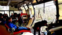 23 марта 2016 год. Скай-парк. Сочи.  Подготовка и прыжок с высоты 206 метров., 06:55