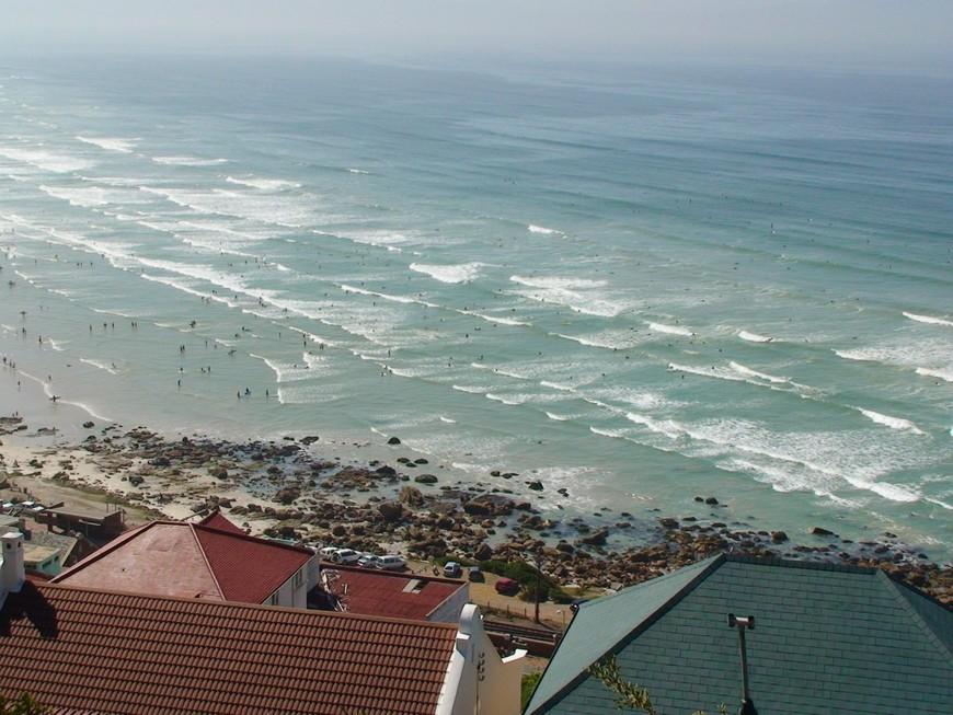 Пляж серфингистов у мыса  Доброй надежды