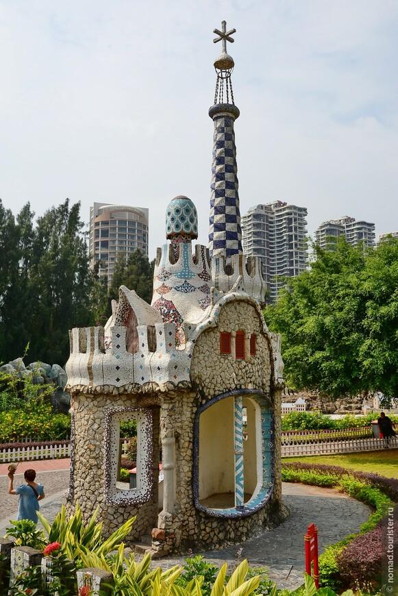Парк Гуэля, Барселона.