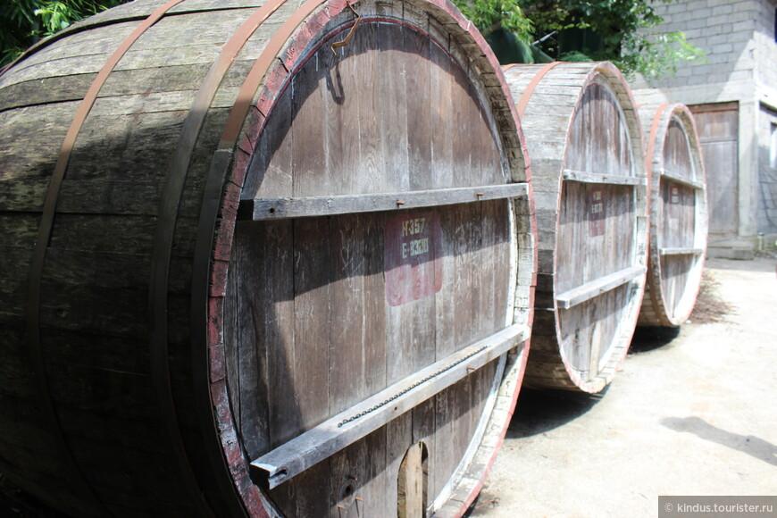 Бочки для хранения вина