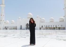 Посещение Главной Мечети в Абу Даби