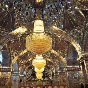 Иран.Шираз.Зеркальные мавзолеи Шах-Чераг