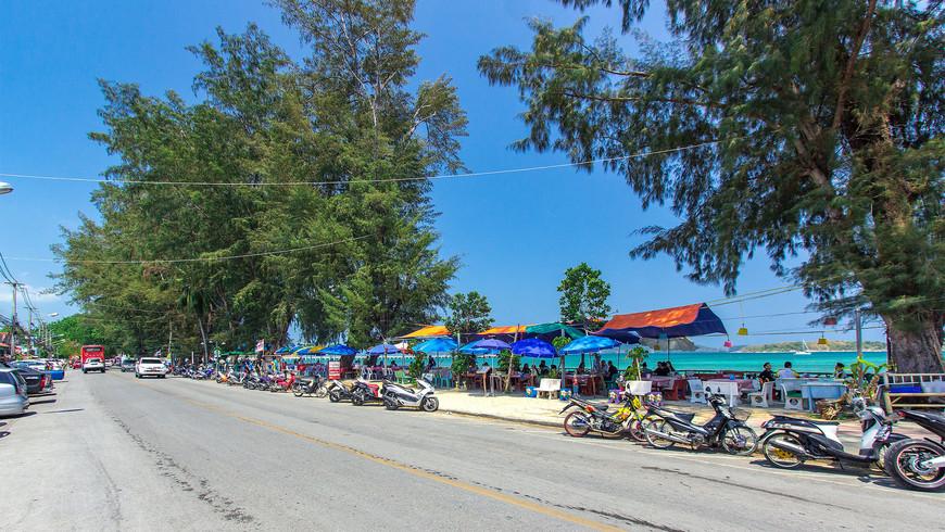 Раваи Бич Роад – дорога вдоль пляжа Раваи, Пхукет.