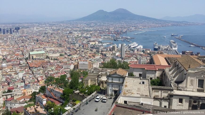 Вид на Неаполь из замка Сантельмо
