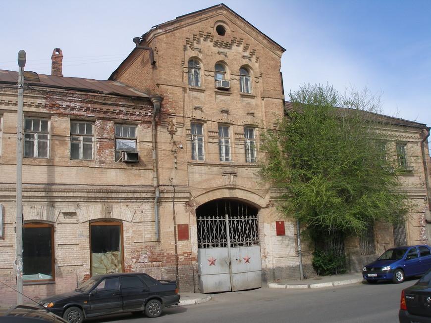 Уголок дореволюционной Астрахани. Бывшие провиантские склады.