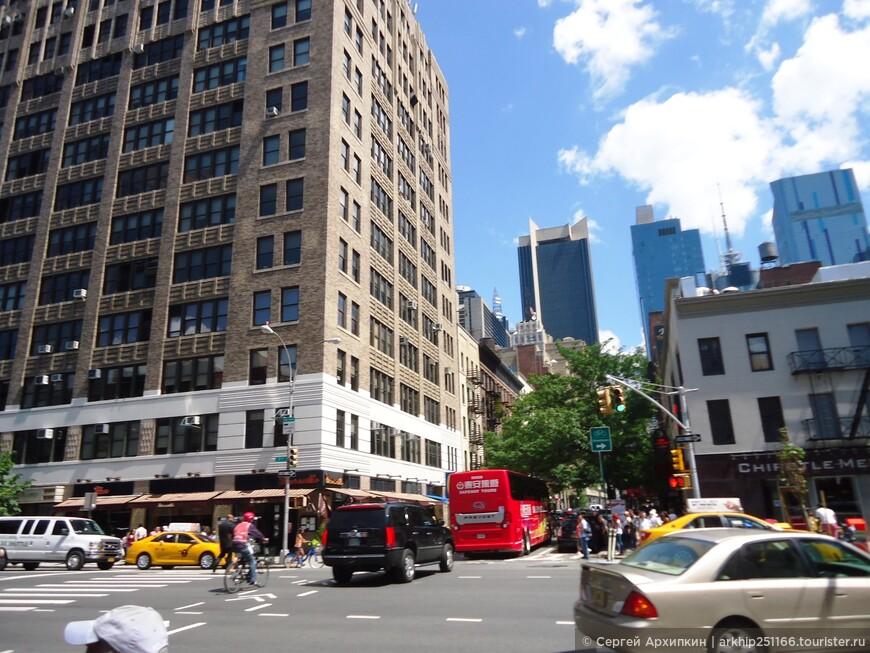 Ну вот давайте посмотрим на главную достопримечательность Нью-Йорка- к сожалению нет у них Эрмитажа и нет у них Кремля, но считая себя главным пупом Земли - посмотрим что они могут предложить