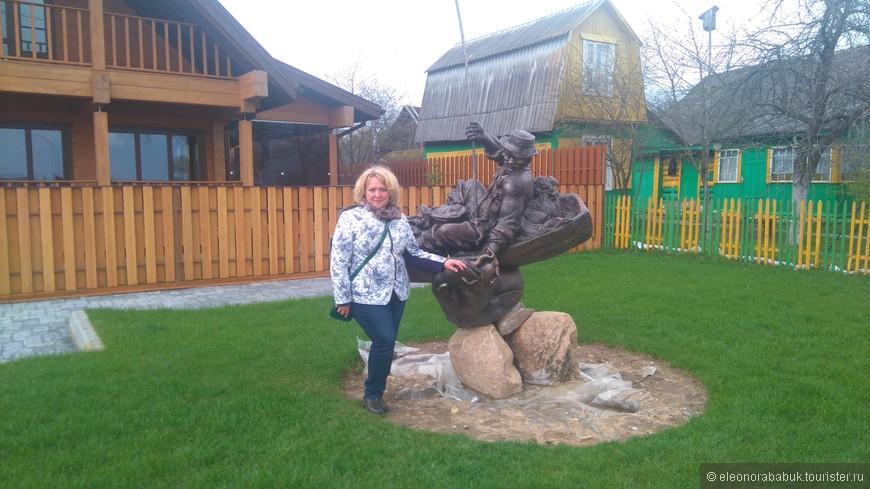 Памятник Нарочанскому рыбаку