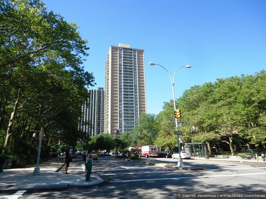 Бруклин -это уже не Манхэттен и здесь довольно просторно