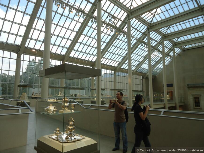 В Музее Метрополитен