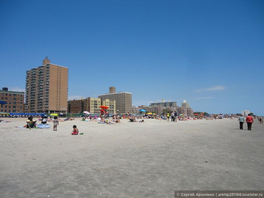 Пляж на Брайтон -бич
