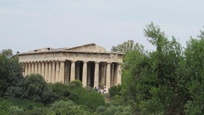 Храм Гефеста. Возведен в 449-415 гг. до Р.Х.