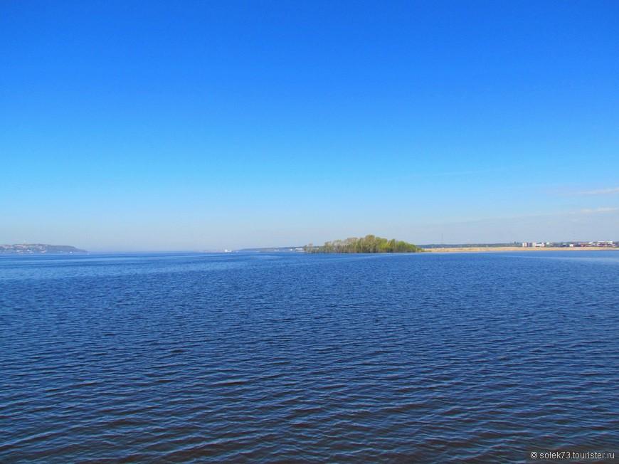 Необъятные речные просторы. Гармония воды и неба