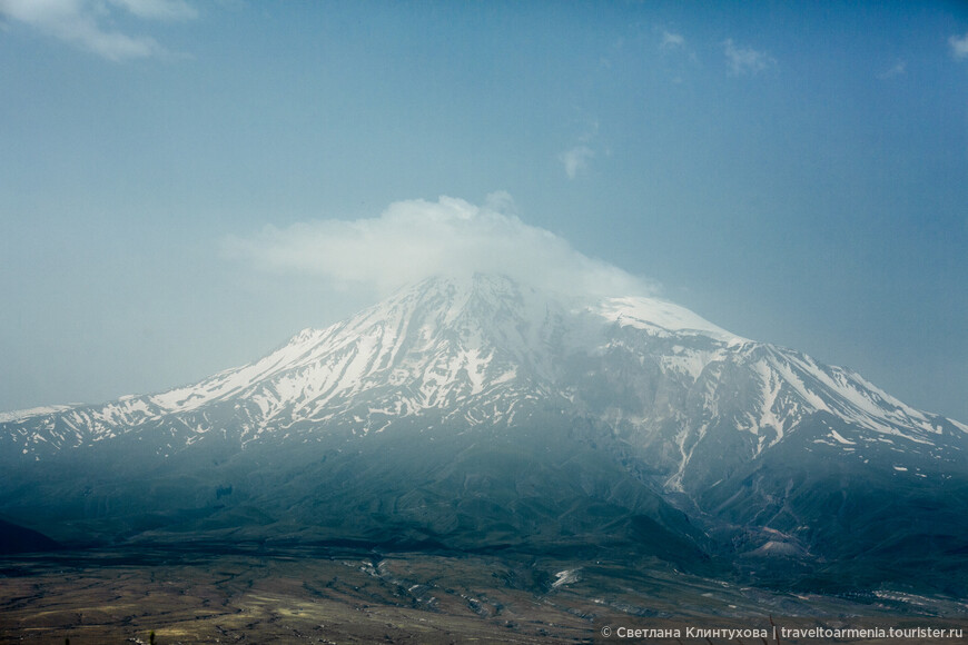 Библейская гора Арарат, 5165 м