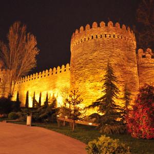 Баку вечерний и Старый город