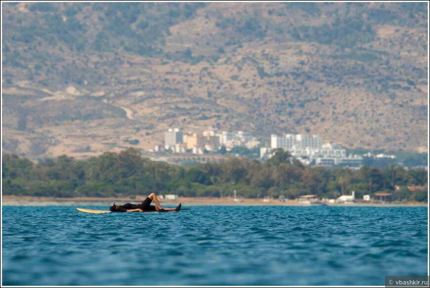 Кипрская расслабуха. Залив Морфу.