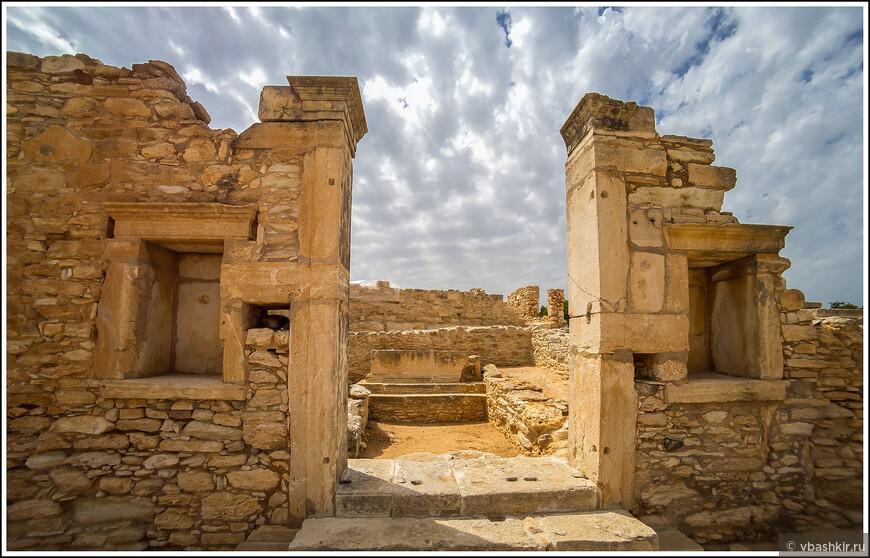 Святилище Апполона Хилатского. Один из античных сайтов Кипра.