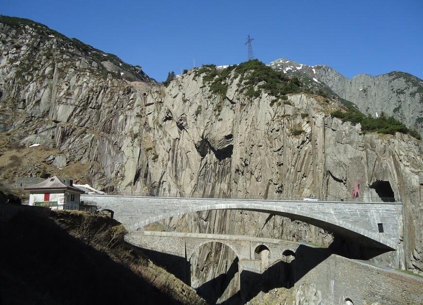 Два современных Чертова моста