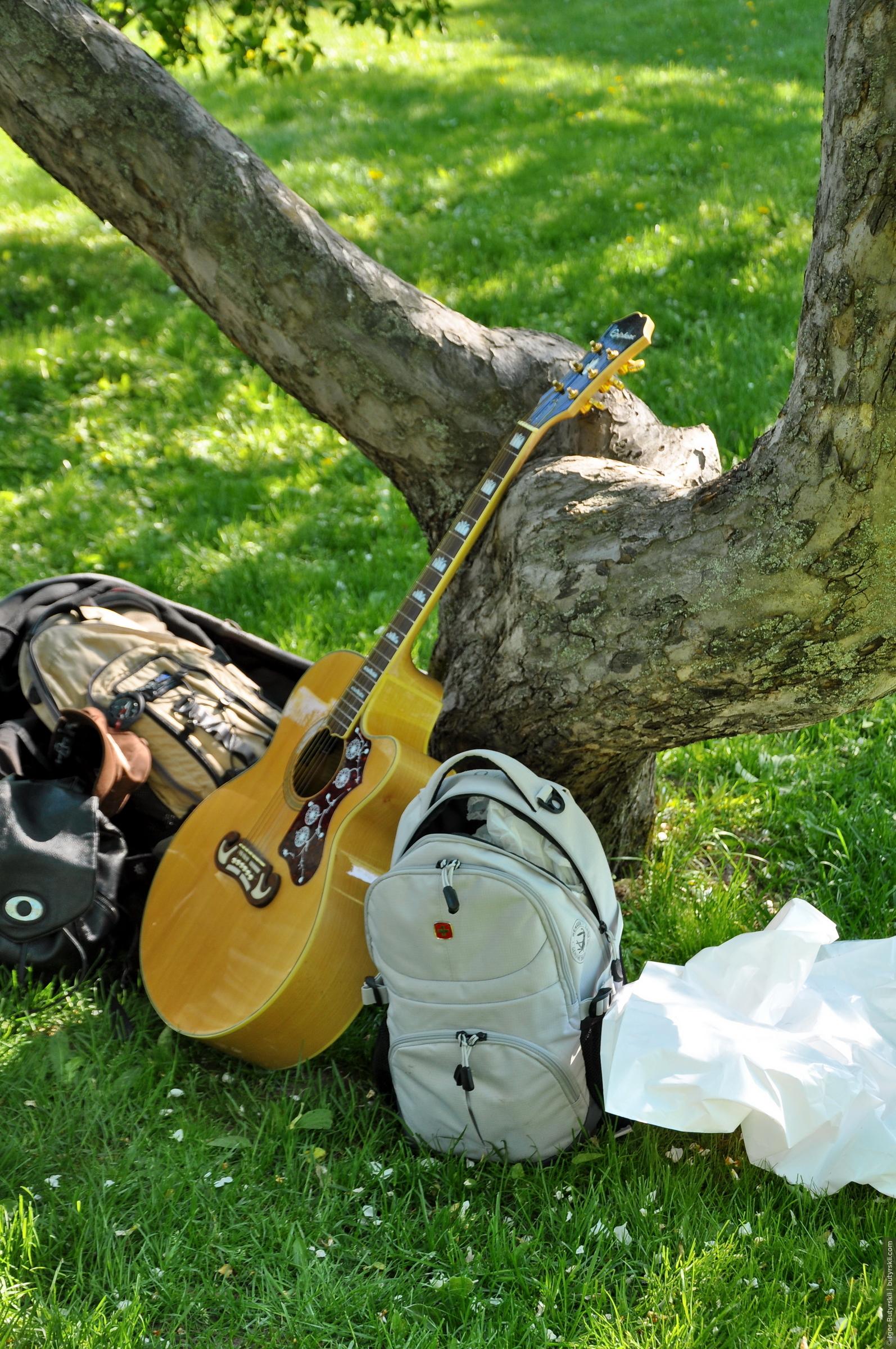 12. Набор туриста, гитара ждала своего чала и дождалась таки…, Туристер встреча-2016 в Коломенском