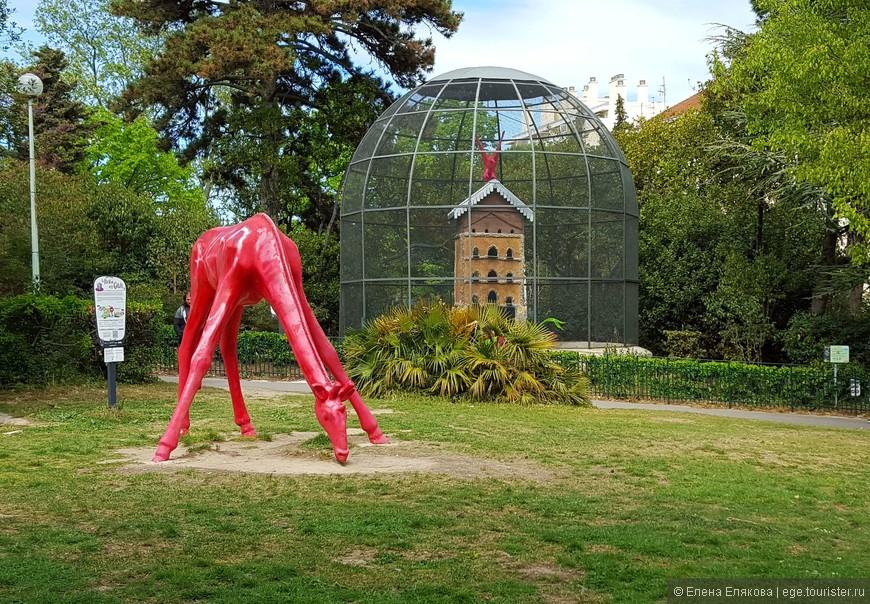 Зоологический сад дворца Лоншан