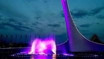 2016 05 27 Цветомузыкальный фонтан в Олимпийском парке. Сочи. 2, 01:52