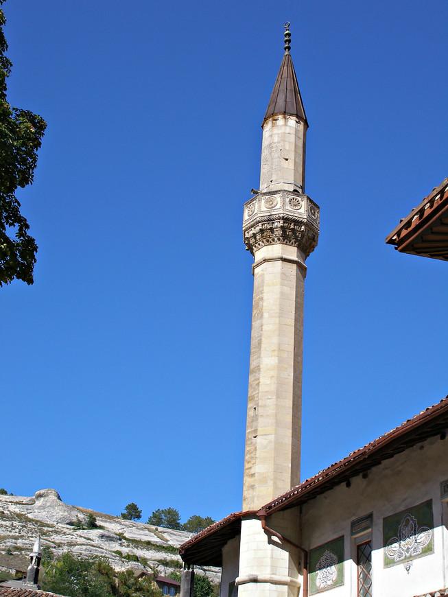 Минарет Большой мечети.