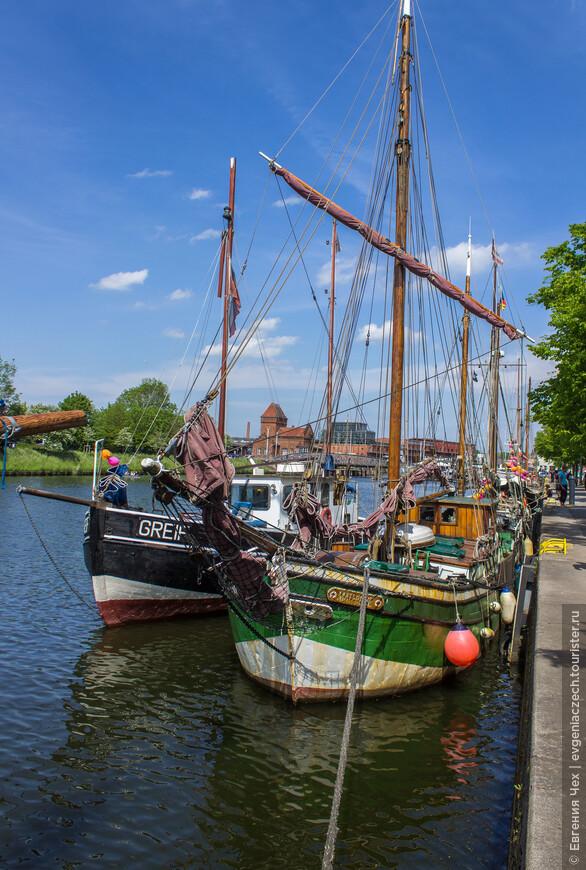 Мероприятия начинаются уже с исторического порта