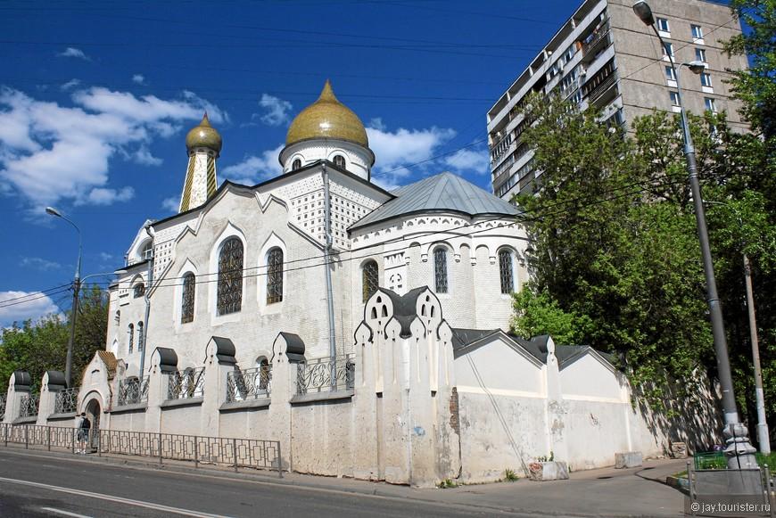 Старообрядческая церковь Покрова Пресвятой Богородицы.