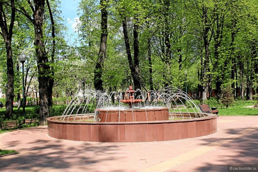 """Сквер """"Героям Отечественной войны 1812 года""""."""