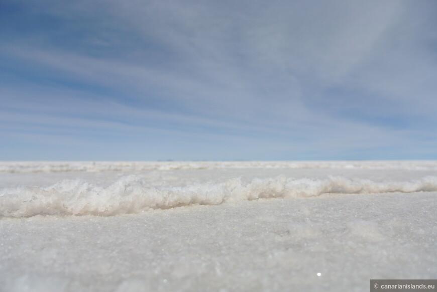 А соли здесь, адские миллиарды тонн.