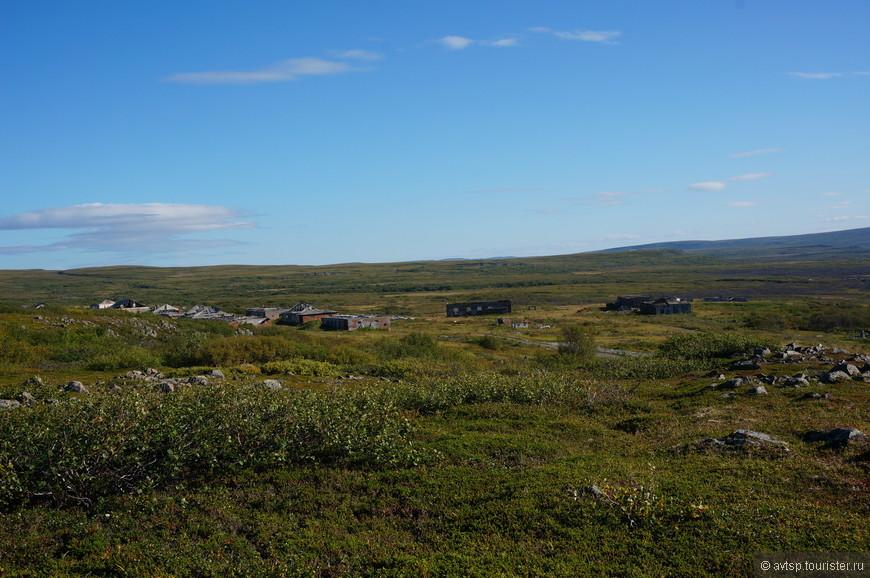 Остатки населённого пункта Большое озерко...